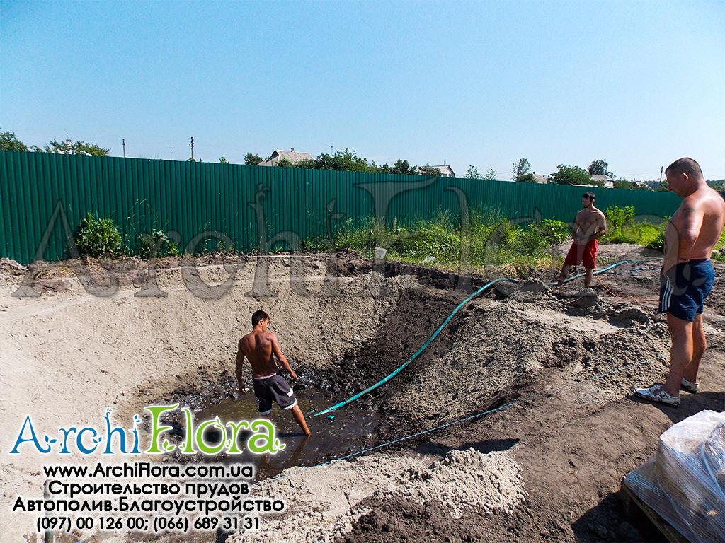 строительство пруда на землях сельхоз назночение про крем-гель